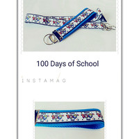 Great Teachers accessory for 100 Days of School, lanyard,  badge holder or keychain