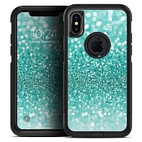 Turquoise Unfocused Glimmer - Skin Kit for the iPhone OtterBox Cases