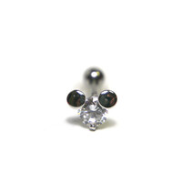 Mickey Mouse Tragus Piercing 16 gauge