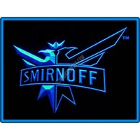 Smirnoff Vodka Bar Pub Restaurant Neon Light Sign
