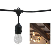 """""""Metro Commercial String Lights (82 Sockets, 165 Ft Cord)"""""""