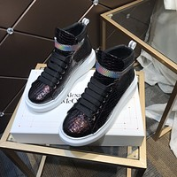 Alexander McQUEEN  Woman's Men's 2020 New Fashion Casual Shoes Sneaker Sport Running Shoes12