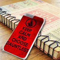 Keep Calm And Choose Dauntless iPhone 6 Plus | iPhone 6S Plus Case