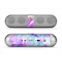 The Vibrant Blue & Purple Flower Field Skin for the Beats by Dre Pill Bluetooth Speaker