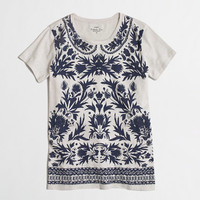 FACTORY GRAPHIC FLORAL COLLECTOR TEE