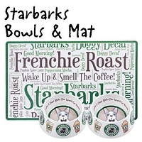 Starbarks Bowls and Placemat Set