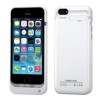 *WEEKLY SPECIAL* Quantum Energy Battery Charger Case 2200mAh for iPhone 5 / 5C / 5S - White