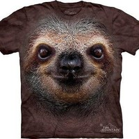 Big Face Sloth T-Shirt