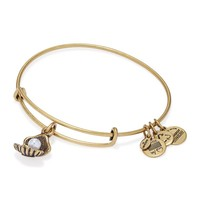 Oyster Charm Bangle