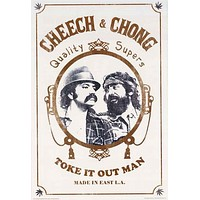 Cheech and Chong Zig Zag Poster 24x36