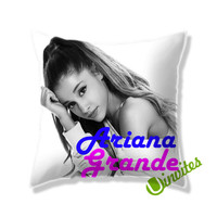 Ariana Grande Pose Square Pillow Cover