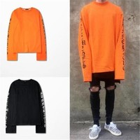 HCXX Long Sleeve Oversized vetements