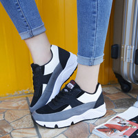 On Sale Comfort Hot Sale Hot Deal Stylish Shoes Winter Casual Round-toe Patchwork Low-cut Sneakers [8865343628]