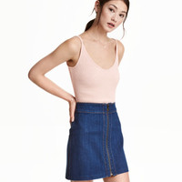 H&M Ribbed Camisole Top $12.99