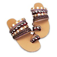 Women Summer Beach Sandals Flats Slides Shoes