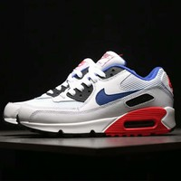 Nike AIR MAX 90 Series Air Casual Jogging Shoes Sneakers F-AHXF