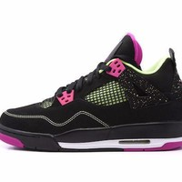 qiyi Air Jordan 4 Retro 30th Anniversary  Fuchsia  GG