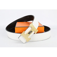 Hermes belt men's and women's casual casual style H letter fashion belt576