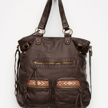 T-Shirt & Jeans Emmy Tote Bag Brown One Size For Women 25988340001