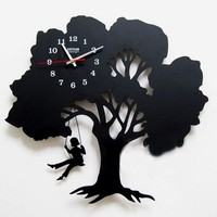 accessoryinlove — Tree Wall Clock Where Childhood Memory Gets Inspired