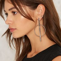 Strike Two Earrings