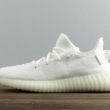 Adidas Yeezy Boost 350V2 Real Boost  Ftwr White
