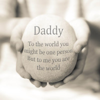Daddy Gift, Daddy Quote Print, Gift for Dad, Inspirational Quote Print, Dad Quote, Gift for him, Father Art Print, Daddy Typography Print