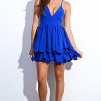 HelloMolly | Starry Eyed Dress Cobalt
