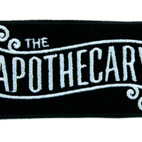 The Apothecary Patch Iron on Applique Occult Clothing Old World Cosplay Steampunk