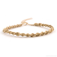 Classic Spiral Hemp Bracelet on Sale for $3.99 at The Hippie Shop