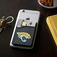 Jacksonville Jaguars Icon Logo Cell Buddy Sleeve