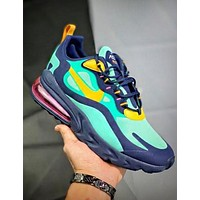 NIKE AIR MAX 270 REACT Fashion New Hook Print Running Shoes