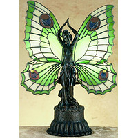 """17""""H Butterfly Lady Accent Lamp"""