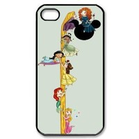 Popular Disney Princesses in Order iPhone 4, 4s Case Hard iPhone Cover Case
