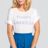Young American Manchester Tee - Wildfox
