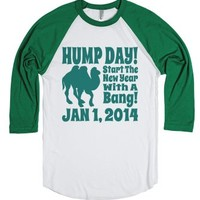 Hump Day New Years Day 2014 Funny T Baseball Jersey-T-Shirt