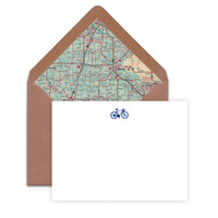 BICYCLE A6 NOTECARDS