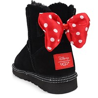 UGG Mickey butterfly snow boots