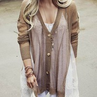 Fox & Lace Sweater