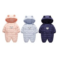 Newborn Baby  Warm Jumpsuit Infant Winter Children's Jacket  Mountaineering Clothing Baby Overcoat Cotton clothes