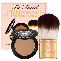 Too Faced Tan Without The Twinkle (0.08 oz  Chocolate Soleil)