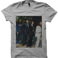 THE BEATLES T-SHIRT CLASSIC BEATLES PICS THE BEATLES GREATEST HITS COOL SHIRTS GREAT GIFTS BIRTHDAY GIFTS CHRISTMAS GIFTS HIPSTER CLOTHES