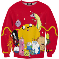 Adventure time red sweater