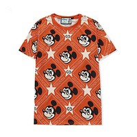 GUCCI Women's loose round neck short sleeve T-shirt