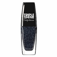 Sally Hansen Triple Shine Nail Polish, Slick Black