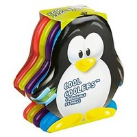 Fit & Fresh Cool Coolers Penguin Ice Packs - Set of 4