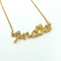 Womens Custom Name Necklace