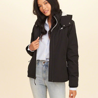 Girls Hollister All-Weather Stretch Fleece-Lined Jacket | Girls Jackets & Coats | HollisterCo.com