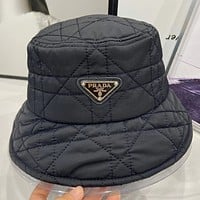 Prada   double faced fisherman hat