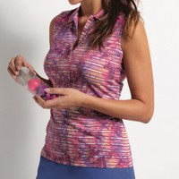 EP New York Ladies & Plus Size Golf Outfits (Shirt & Skort) - A Place in the Sun (Summer Berry)